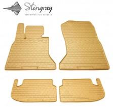 Stingray Коврики резиновые BMW 5 (F10/F11) БЕЖЕВЫЕ