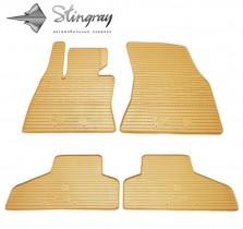 Коврики резиновые BMW X5(F15)/X6(F16) бежевые Stingray