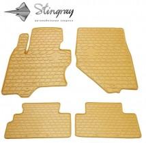 Stingray Коврики резиновые Infiniti FX 2008-2012/QX70 бежевые