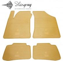 Stingray Коврики резиновые Kia Cerato 04-09 бежевые