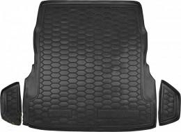 Коврики в багажник Mersedes W 222 (с регулировкой сидений)  AvtoGumm
