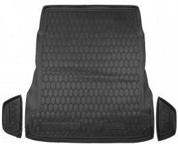 Коврики в багажник Mersedes W 222 (без регулировки сидений)  AvtoGumm