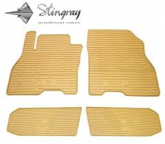 Stingray Коврики резиновые Nissan Leaf 2012- бежевые