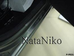 NataNiko Накладки на пороги PEUGEOT PARTNER II 2008-