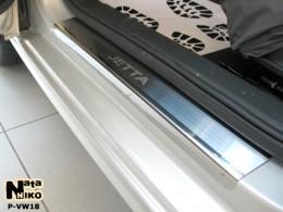 Накладки на пороги VW JETTA VI 2011-2018 NataNiko