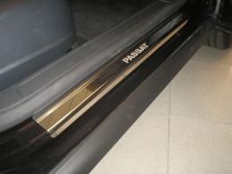 Накладки на пороги VW PASSAT B6/CC/B7 NataNiko