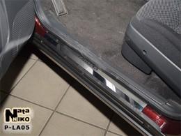 Накладки на пороги ВАЗ LADA PRIORA 2007-