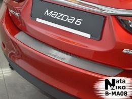 Накладка на задний бампер Mazda 6 2012- NataNiko