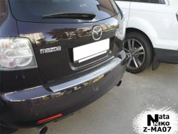 NataNiko Накладка с загибом на бампер Mazda CX 7