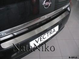 NataNiko Накладка на задний бампер Opel Vectra C 4D/5D