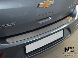 Накладка на задний бампер Renault Megane III Grandtour 2009-2012 NataNiko