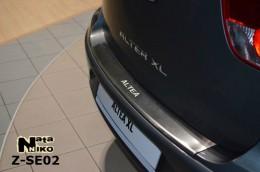 NataNiko Накладка с загибом на бампер Seat Altea XL