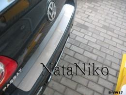 Накладка на задний бампер VW Passat B6 sedan