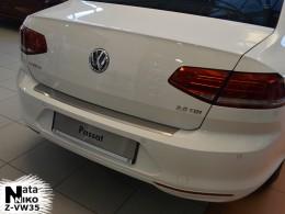 Накладка с загибом на бампер VW Passat B8 Variant NataNiko