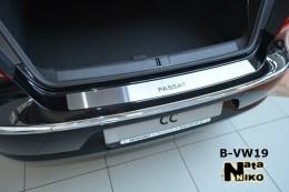 NataNiko Накладка на задний бампер VW Passat CC 2008-2011