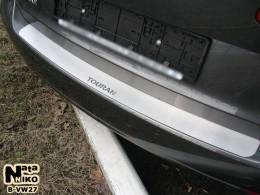 NataNiko Накладка на задний бампер VW Touran II 2010-2014