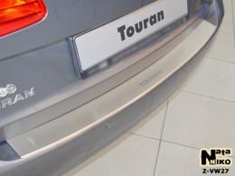 NataNiko Накладка с загибом на бампер VW Touran 2010-2014