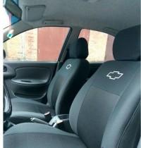 Чехлы на сидения Chevrolet Lanos с 2005-09 г EMC-Elegant