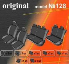 EMC-Elegant Чехлы на сидения Dacia Logan MCV 7 мест с 2006 г дел.
