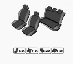 EMC-Elegant Чехлы на сидения Ford Conect c 2015