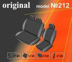 EMC-Elegant Чехлы на сидения Ford Transit (2+1) c 2000-2006 г