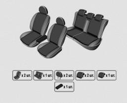 EMC-Elegant Чехлы на сидения Geely Emgrand Х7 с 2013 г