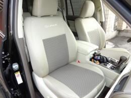EMC-Elegant Чехлы на сидения Lexus GX (1+1) c 2009 г