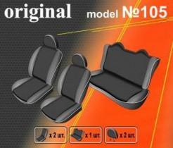 EMC-Elegant Чехлы на сидения Nissan Almera Classic эконом с 2006-12 г