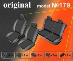 EMC-Elegant Чехлы на сидения Nissan Navara Double Cab с 2005–10 г