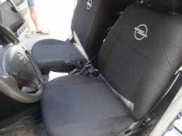 Чехлы на сидения Opel Vivaro (1+1) с 2002 г EMC-Elegant
