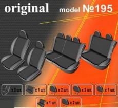 EMC-Elegant Чехлы на сидения Renault Logan MCV 7 мест (цельный) с 2009-13 г