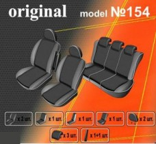 EMC-Elegant Чехлы на сидения Renault Scenic I с 2000–02 г