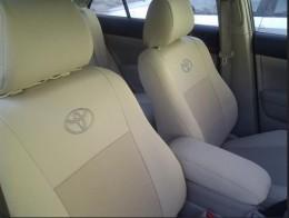 EMC-Elegant Чехлы на сидения Toyota Corolla с 2013 г (с задним подлокотником)