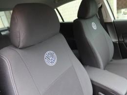 EMC-Elegant Чехлы на сидения Volkswagen Caddy 5 мест (1+1) с 2010 г