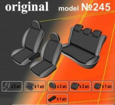 EMC-Elegant Чехлы на сидения Volkswagen Polo V htb (цельн) с 2009 г