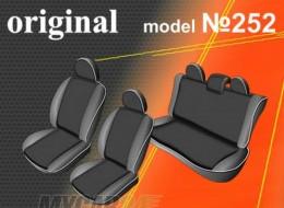 EMC-Elegant Чехлы на сидения Volkswagen Polo V sed (цельн) с 2010 г