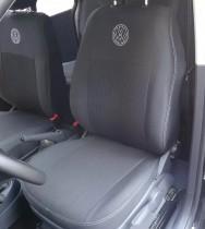 Чехлы на сидения Volkswagen T5 (1+1) Transporter Van с 2003 г EMC-Elegant