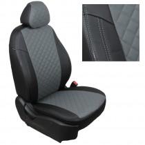 FavoriteLux Romb Авточехлы на сидения Skoda Rapid (цельный) с 2012