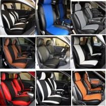 FavoriteLux Romb Авточехлы на сидения Volkswagen Polo V htb (цельн) с 2009 г