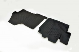 Резиновые коврики в салон Citroen Jumper (07-) СРТК