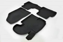 Резиновые коврики в салон KIA Sportage (10-16) СРТК