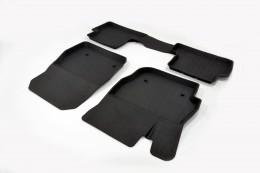 Резиновые коврики в салон Mazda 3 (06-13)