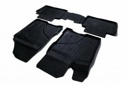 Резиновые коврики в салон ВАЗ LADA Vesta SD/SW/SW Cross (15-) СРТК