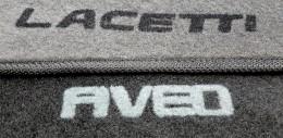 Concorde Коврики в салон Chevrolet Aveo (Т250-55) 2007-2011 г.в. ворсовые