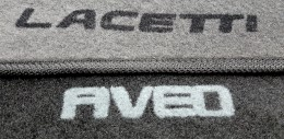 Коврики в салон Chevrolet Lanos (Т100) (1997-2002) ворсовые Concorde