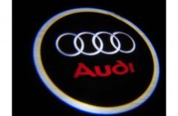 Проекция логотипа Audi . Проводные проекторы 5 Вт