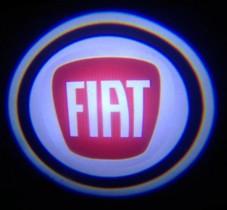 Проекция логотипа FIAT . Проводные проекторы 5 Вт