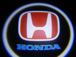 Проекция логотипа Honda. Проводные проекторы 5Вт