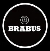 Проекция логотипа Mercedes Brabus. Проводные проекторы 5Вт