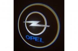 Проекция логотипа Opel. Проводные проекторы 5 Вт